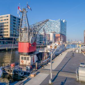 Hafenkran Hamburg holiday2be